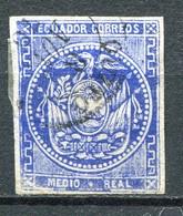 Ecuador Mi# 1 Gestempelt - Heraldic - Ecuador