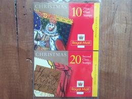 GRAN BRETAGNA - Natale 1999 - 2 Libretti Completi Nuovi ** (sottofacciale) + Spese Postali - Carnets