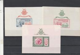 Guinée Yvert Bloc 1 + 2 + 3 ** Croix Rouge + Exposition New York - Guinée (1958-...)