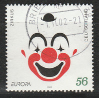 PIA - GERMANIA :  2002 : Europa CEPT - Il Circo - (Yv 2080) - Circo