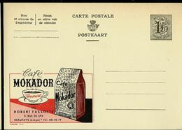 Publibel Neuve N° 1417 ( Café MOKADOR Dessert - Beaufays) - Stamped Stationery