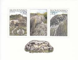 2006 Slovakia Geology Minerals Miniature Sheet Of 2 MNH - Slovakia