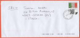 Repubblica Di San Marino - 2020 - 1,30 Bandiera Italiana - GPS Mail Box - Globe Postal Service - QR Code - Viaggiata Da - Saint-Marin