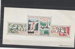 Tchad Yvert Bloc 1  ** Jeux Olympiques Tokyo - Sports - Tchad (1960-...)