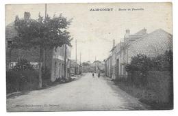 Alincourt (Ardennes 08) Route De Juniville - Francia