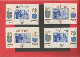 BLOC ORVAL 18/21** - Blocs 1924-1960