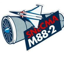 Autocollant Snecma M88-2 Rafale - Commemorative Labels