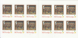 2013 Slovenia Christmas Noel Booklet Of 12 Carnet Complete MNH  @ BELOW FACE VALUE - Slovenia