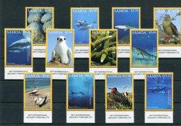 "Samoa - Mi.Nr. 1282 / 1293 - ""Meerestiere"" ** / MNH (aus Dem Jahr 2016) - Samoa (Staat)"