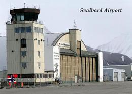 Svalbard Islands Longyerbyen Airport New Postcard Spitzbergen Flughafen AK - Norway
