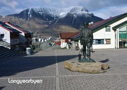 Svalbard Islands Longyearbyen Miners Memorial New Postcard Spitzbergen AK - Norway