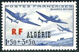Algérie Algeria Algerien 1945 Oeuvres De L'Air - Aerei