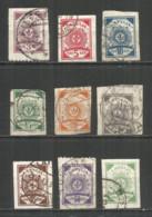Latvia 1919 Used Stamps  Set - Letland