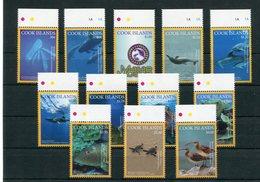 """Cookinseln - Mi.Nr. 2093 / 2104 - """"Meerestiere"""" ** / MNH (aus Dem Jahr 2016) - Cook Islands"""