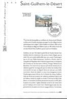 Notice Philatélique 1er Jour FDC 3310 Yt, 2000, Saint Guilhem Le Désert, Hérault - Documents De La Poste