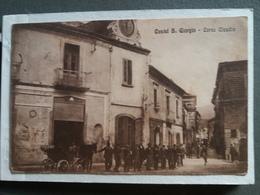 M250  CARTOLINA Di CASTEL SAN GIORGIO SALERNO  SALERNO  VIAGGIATA - Salerno