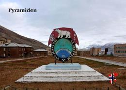 Svalbard Islands Pyramiden Arktikugol Sign New Postcard Spitzbergen AK - Norvège