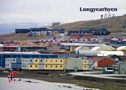 Svalbard Islands Longyearbyen View New Postcard Spitzbergen AK - Norway