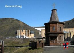 Svalbard Islands Barentsburg Church New Postcard Spitzbergen AK - Norway