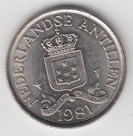 @Y@    Nederlandse Antillen   25  Cent  1981 ( 4692 ) - Netherland Antilles