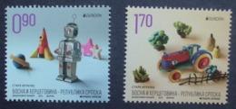 Bosnien   Serb.Post     Historisches Spielzeug    Europa Cept   2015  ** - 2015