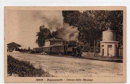 BAGNOCAVALLO - INTERNO DELLA STAZIONE - RAVENNA - VIAGGIATA - Ravenna