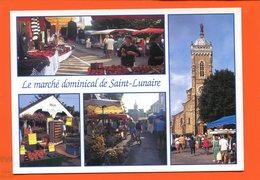 ET/220 SAINT LUNAIRE LE MARCHE AU CENTRE VILLE / St - Saint-Lunaire