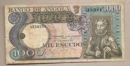 Angola - Banconota Circolata Da 1000 Scudi P-108a - 1973#18 - Angola