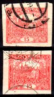 Cecoslovacchia-B-0006 - Emissione 1918-20 - Varie Tonalità Di Colore (o) Used - Senza Difetti Occulti. - Non Classificati