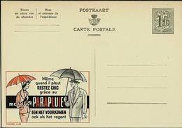 Publibel Neuve N° 1448 ( Restez Chic Grâce Au PARAPLUIE) - Enteros Postales