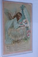 Ange Au Dessus D Un Bebe Dans Un Berceau - Anges