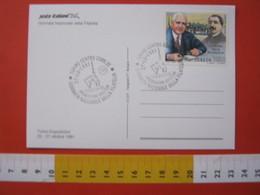 A.12 ITALIA ANNULLO 1991 TORINO GIORNATA FILATELIA PREMIAZIONE VINCITORI MOLE FRANCOBOLLO BOLAFFI - Giornata Del Francobollo