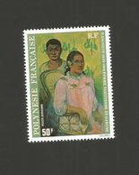 "POLYNESIE 1977 - Yvert PA N°135 "" GAUGUIN - Femme Tahitienne Et Garçon 50 FCFP "" Neuf** - Nuovi"