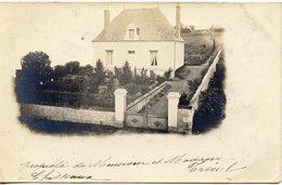 37 CHISSEAUX - CARTE PHOTO - PROPRIETE DE Mr ET Me TRECUL - France