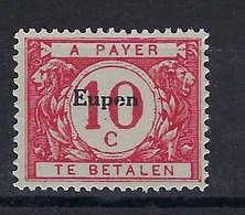 "OC102-V2** : ""e"" Cassé,, Dans ""Eupen"" (t71/80) - [OC55/105] Eupen/Malmedy"