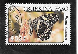 TIMBRE OBLITERE DU BURKINA DE 1984 N° MICHEL 975 - Burkina Faso (1984-...)