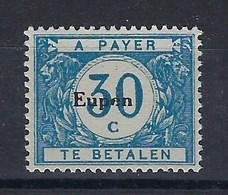 "OC104-V2** : ""e"" Cassé,, Dans ""Eupen"" (t71/80) - [OC55/105] Eupen/Malmedy"