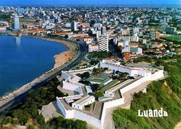 Angola Luanda Bay Aerial View New Postcard - Angola
