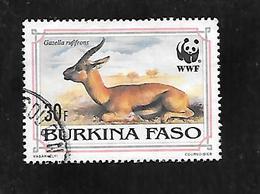 TIMBRE OBLITERE DU BURKINA DE 1993 N° MICHEL 1298 - Burkina Faso (1984-...)