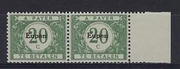 "OC105-V2** : ""e"" Cassé,, Dans ""Eupen"" (t71/80) - [OC55/105] Eupen/Malmedy"