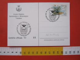 A.12 ITALIA ANNULLO 1992 TRECATE NOVARA ARALDICA CASTELLO CASTLE STEMMA AQUILA FAMIGLIA ANNONI CASA CASSANO - Stemmi