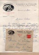 Vieux Papiers > Factures  France > Non Classés 76 Doudeville Commerce De Poulains JOBBIN Fréres - Non Classificati