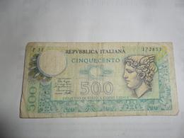 Italie 500 Lires 1979 - [ 2] 1946-… : République