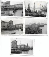 Bateaux De Pêche à Oostende Photos 10x7 - Barche