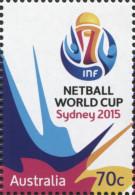 Australie Australia 4178 Netball, Autoadhésif Issu Du Carnet - Football