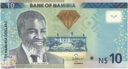 NAMIBIA 10 DOLLARS 2012 PICK 11a UNC - Namibie