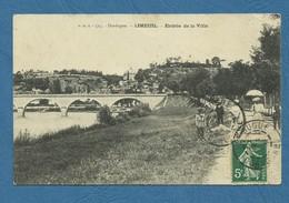 LIMEUIL  ( Dordogne ) Entrée De La Ville   .  ( Ref 270 ) - Autres Communes