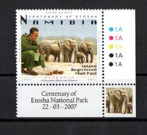 Namibia    - 2007  - Cent Of Etosha National Park - Elephant  - MNH. - Namibia (1990- ...)