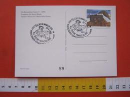 A.12 ITALIA ANNULLO 1993 VARALLO VERCELLI VALSESIA SACRO MONTE DONAZIONE ORDINE FRANCESCANO SAN FRANCESCO ASSISI FRATE - Cristianesimo