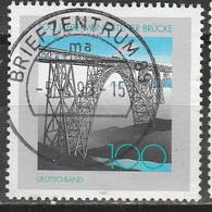 PIA - GERMANIA - 1997 : Centenario Del Ponte Di Mungsten - (Yv 1759) - Ponti